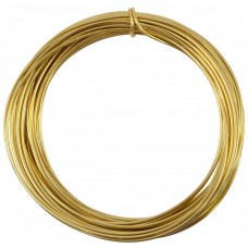 Gold Plated Wire 0.6mm 10 metre