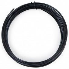 Coloured Copper Wire Black 0.6mm 10 Metre