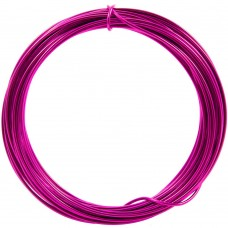 Coloured Copper Wire Deep Pink 0.6mm 10 Metre