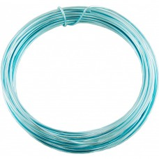 Aluminium Wire Electric Blue 2.0mm 2 Metre