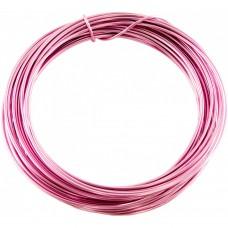 Aluminium Wire Baby Pink 2.0mm 2 Metre