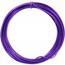 Aluminium Wire Purple 2.0mm 2 Metre