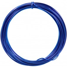 Aluminium Wire Electric navy 2.0mm 2 Metre