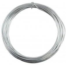 Aluminium Wire Silver 2.0mm 2 Metre