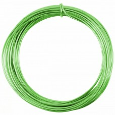 Coloured Copper Wire Fluo Green 0.6mm 10 Metre