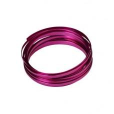 Flat Aluminium Wire Rose 2 Metre